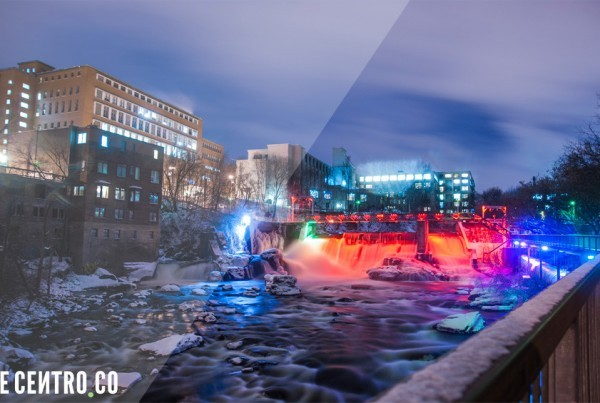 Le Centre-ville de Sherbrooke en photo