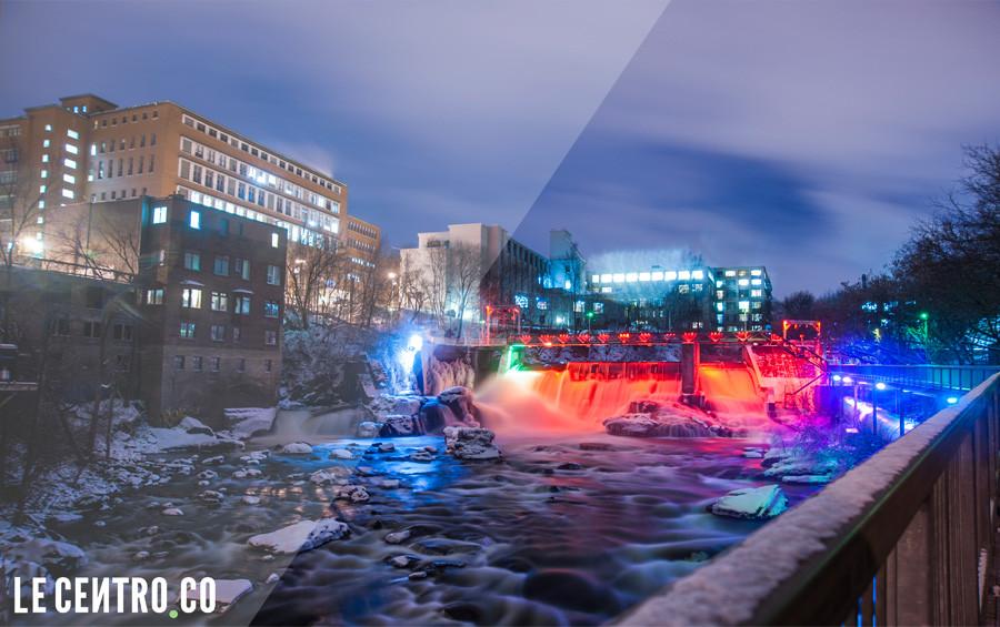 Le Centre-ville de Sherbrooke en photo