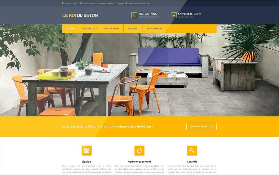 le roi du b ton b ton sherbrooke b ton estamp. Black Bedroom Furniture Sets. Home Design Ideas