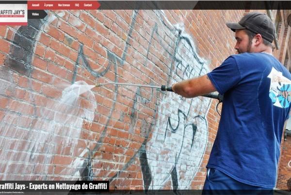 graffiti jays nettoyage graffitis sherbrooke