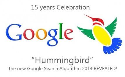 15 ans google hummingbird algorithm