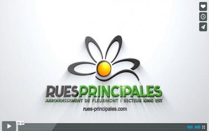 Rues Principales logo vidéo