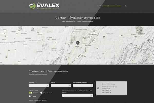 ÉVALEX – Évaluateur agréé Magog | Site Web