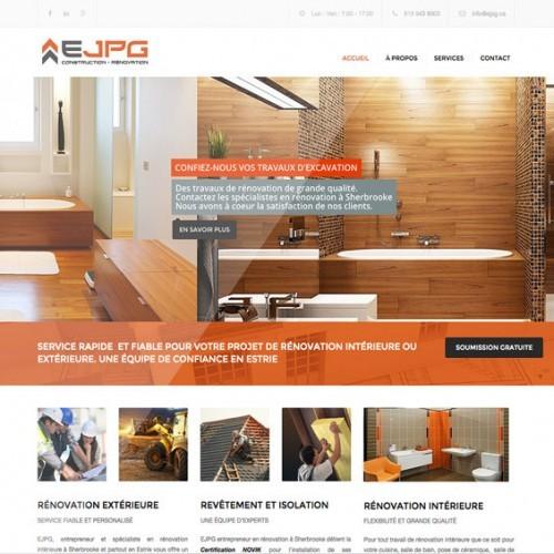 EJPG inc | Projet Site Web