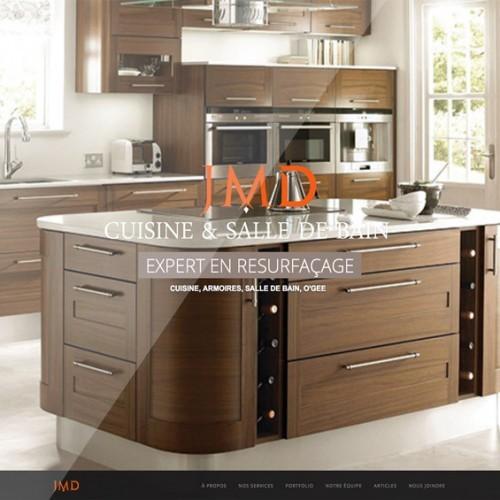 Cuisine Resurfaçage JMD | Projet site Web