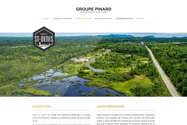 Groupe Pinard | Projet Site Web