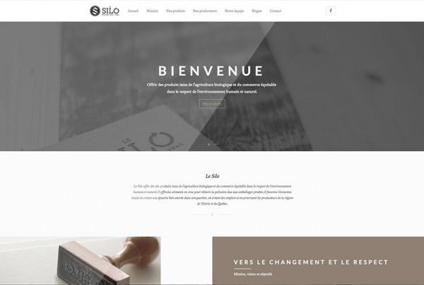 Le Silo | Épicerie bio | Projet Site Web