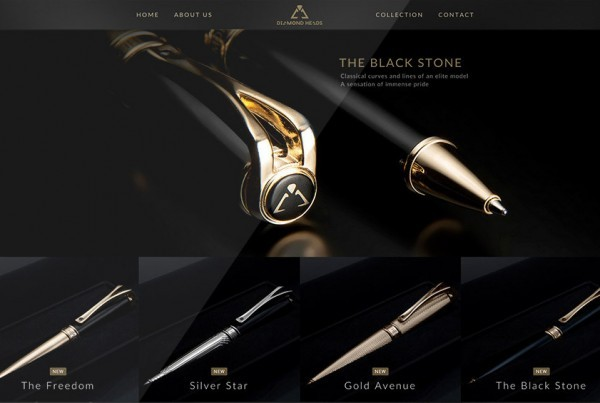 Diamond Heads – Luxury products with pure Black Diamond