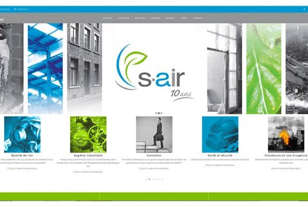 S-AIR Environnement | Site web