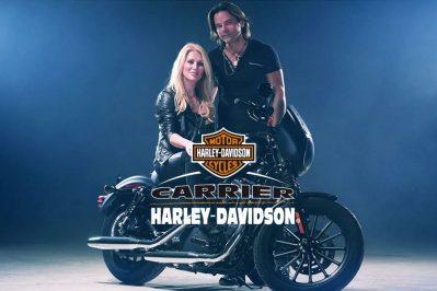 carrier Harley Davidson Rick Hugues Nancy Langlois