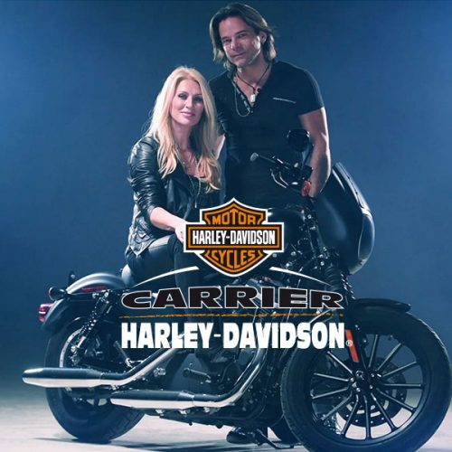Carrier Harley Davidson – Rick Hugues & Nancy Langlois