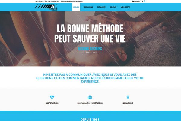 Actions Secours |  e-commerce