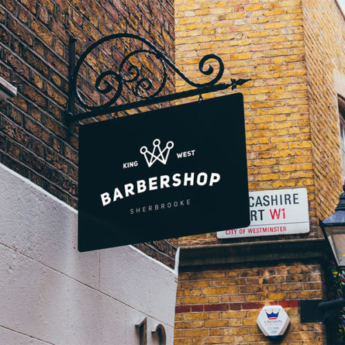 Barber Shop King logo