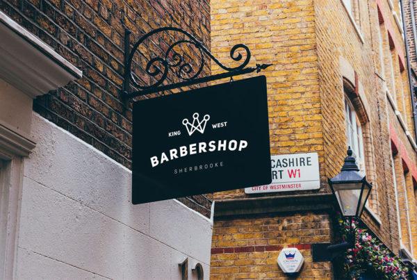 Barber Shop King logo