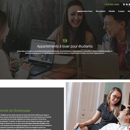 Immeubles Rioux – nouveau site web