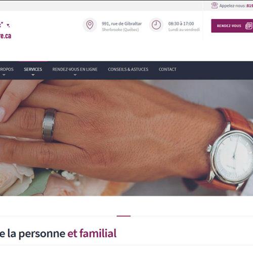 NotreNotaire – Site web