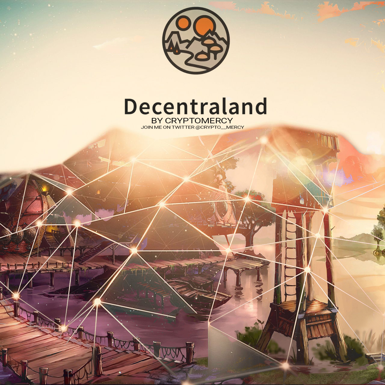 Decentraland Wallpaper crypto